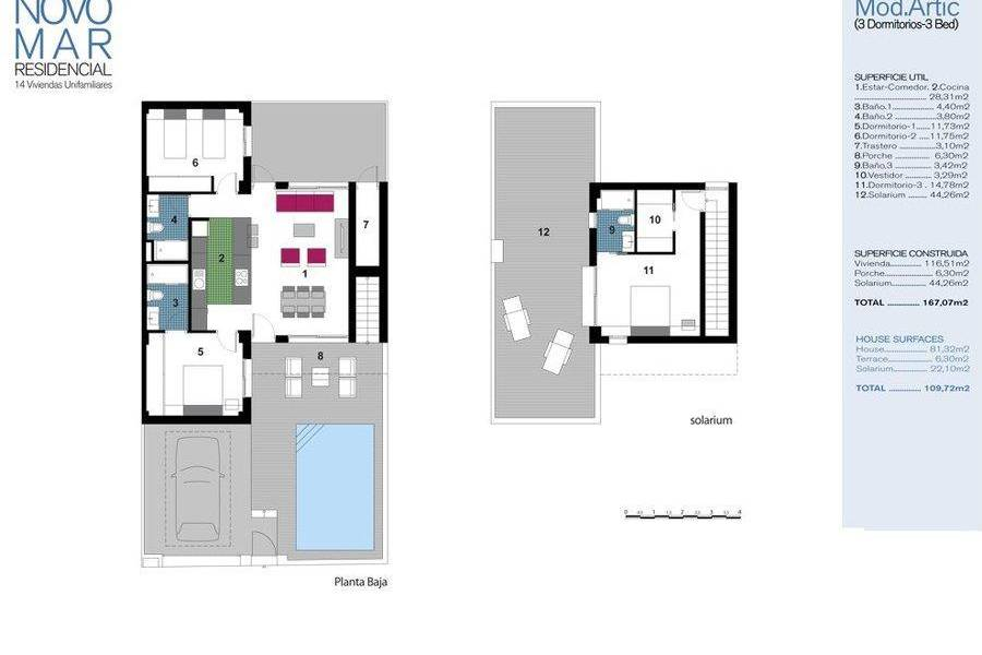Reventa - Semi-detached house / Quad - Formentera - Pueblo