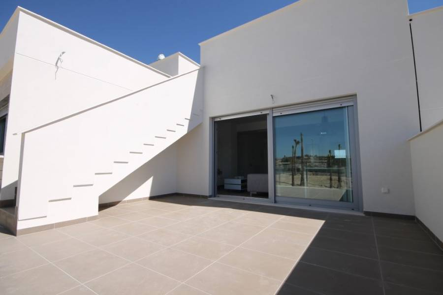 terrace - New Apartment for sale on the Entre Naranjos urbanisation